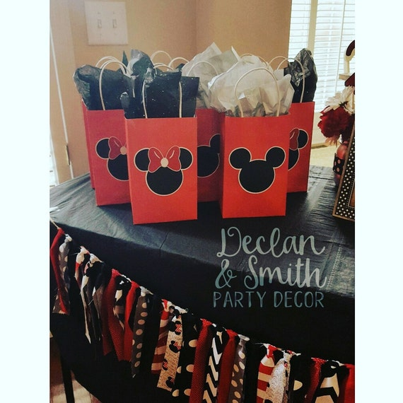 Mickey Mouse Party Favors Minnie