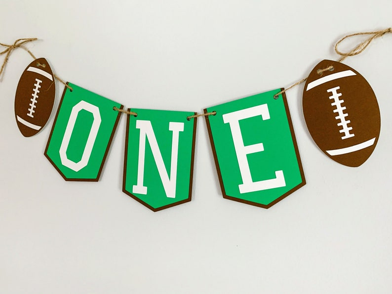 football game day decorations football high chair banner football decorations football age banner football cake smash