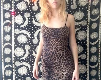 90s Black Strappy Midi Dress with Curved Barbell Piercing Detail  y2k  Cyber  Goth  Club Kid  Minimal  Punk  Cut Out  Silver
