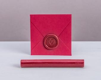 Red Sealing Wax Sticks for Hot Glue Gun