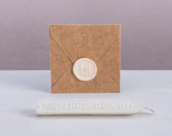 Durable White Sealing Wax Sticks