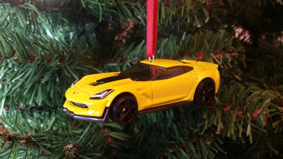 Miniature 2017 Chevy Corvette C7 Z06 Christmas Holiday | Etsy