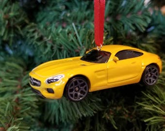 Mercedes AMG GT Mothers Day, Fathers Day, Birthday Ornament 1:64 Free Shipping Happy Holidays!!