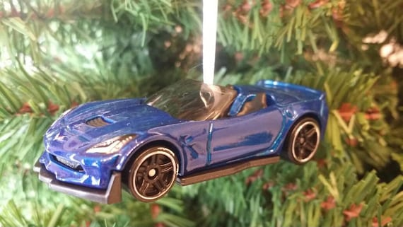 Miniature 2017 Chevy Corvette C7 Z06 Christmas Ornament Free | Etsy