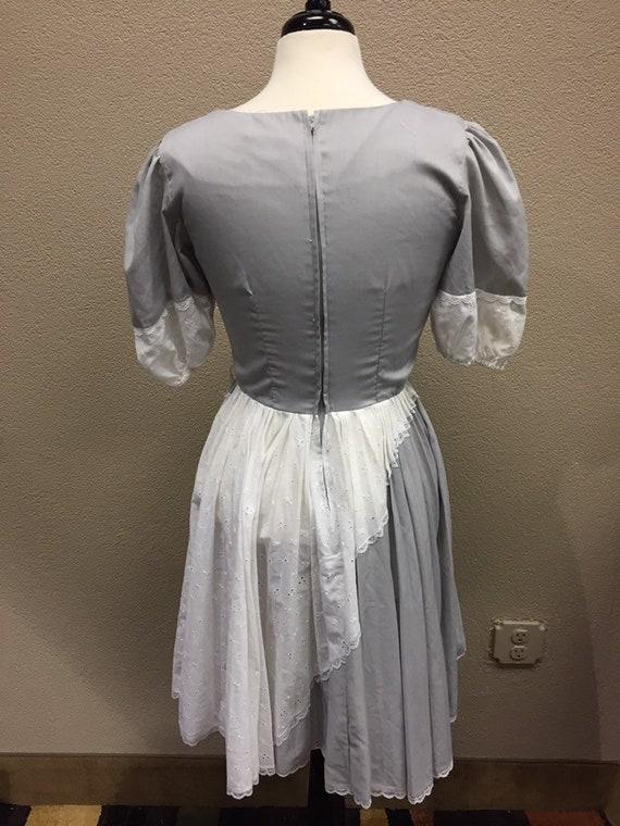 1960's Square Dancing Dress || Vintage Swing Dress - image 3