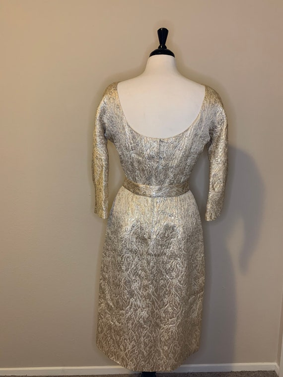 1950s Suzy Perette Brocade Dress - image 9