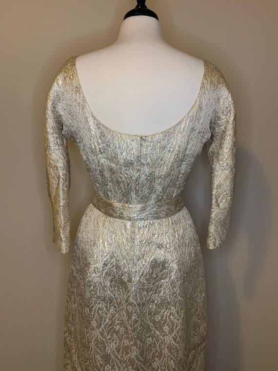 1950s Suzy Perette Brocade Dress - image 8