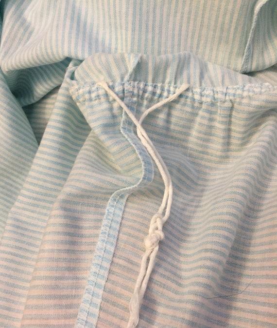 1960s/70s Volup Striped Shirt Dress - image 5