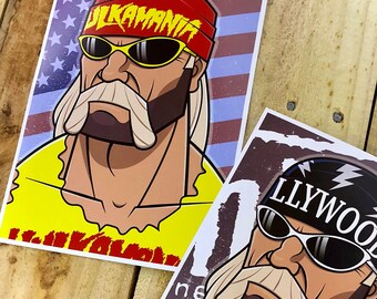Hulk Hogan - Art Prints