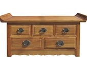 Chinese Hua Li Rosewood Altar Table Display Stand Coffee Table JZ163E