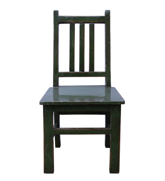 Super Oriental Handmade Dark Green Color Small Size Wood Chair Wk2614E Gmtry Best Dining Table And Chair Ideas Images Gmtryco