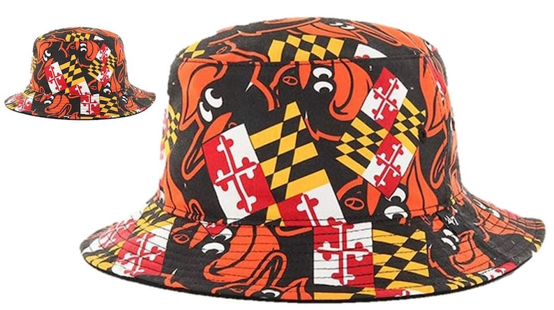 b1a017781bb02 Baltimore Orioles Maryland Flag Bucket Hat One size fits