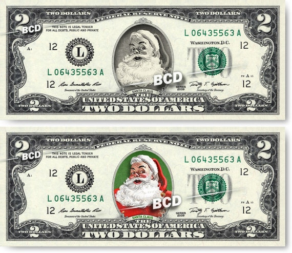 CUSTOMIZED $2 Dollar Bill WITH YOUR PICTURE Spendable Money! REAL