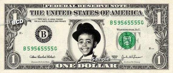 STYMIE on a REAL Dollar Bill Little Rascals Cash Money | Etsy