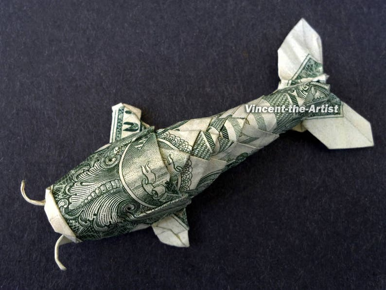 Dollar Origami: 15 Origami Projects Including the Amazing Koi Fish ... | 596x794