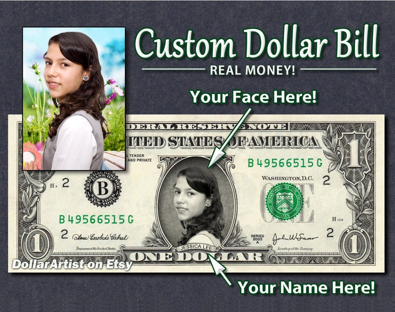 Personalized FATHER'S DAY GIFT - Real Dollar Bill Happy Father Dad Cash  Money Custom Collectible Novelty Bank Note Dinero Currency