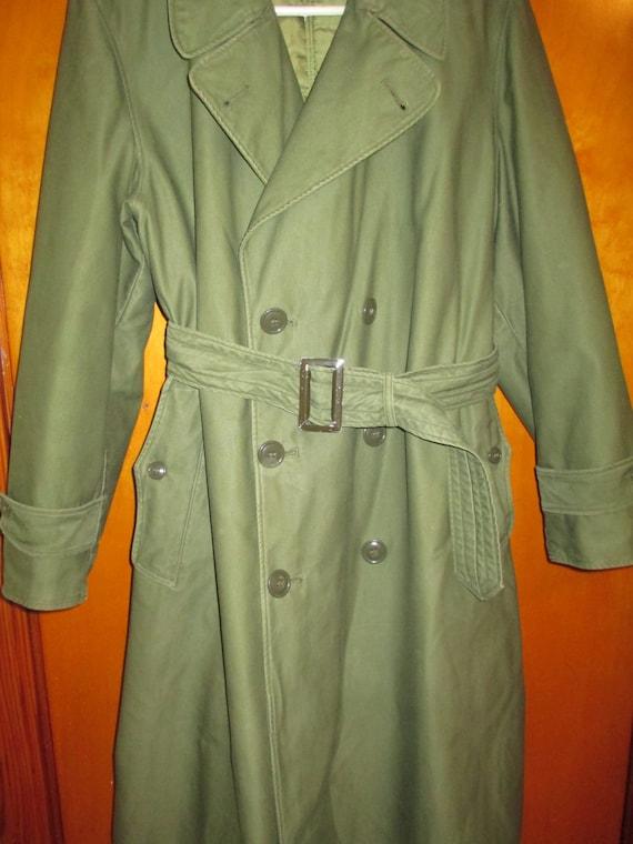 1950s US MILITARY COAT, Vintage Army Coat, Vintage