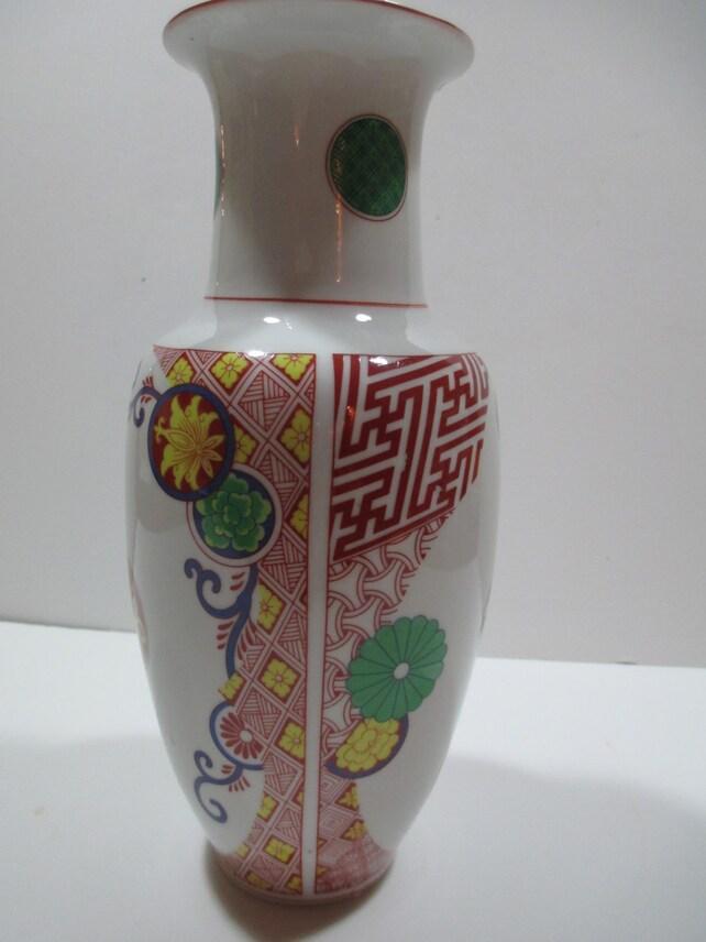Toscany Vase Sapporo Japan Sapporo Japanese Vase Toscany Etsy
