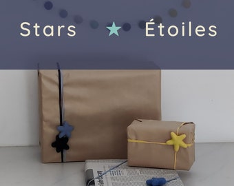 Gift bow and ribbon/eco-friendly gift bow/zero waste gift wrap/furoshiki/sustainable gift wrap/green christmas/eco gift wrapping/ecological