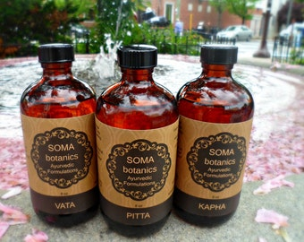 Tridoshic 8 oz. Collection: Nourishing Body Oil (Abhyanga)
