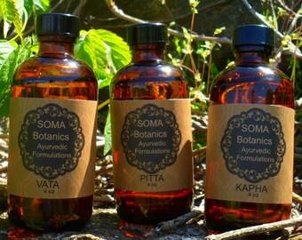 Tridoshic 4 oz. Collection: Nourishing Body Oil (Abhyanga)