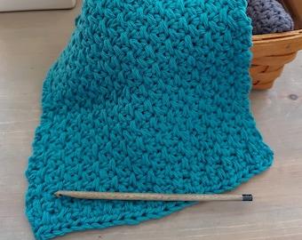 Dishcloth / Crochet Pattern (PDF Download) / teacher gift / face cloth / farmhouse/ spa  / beginner / wash / cloth / baby wipes