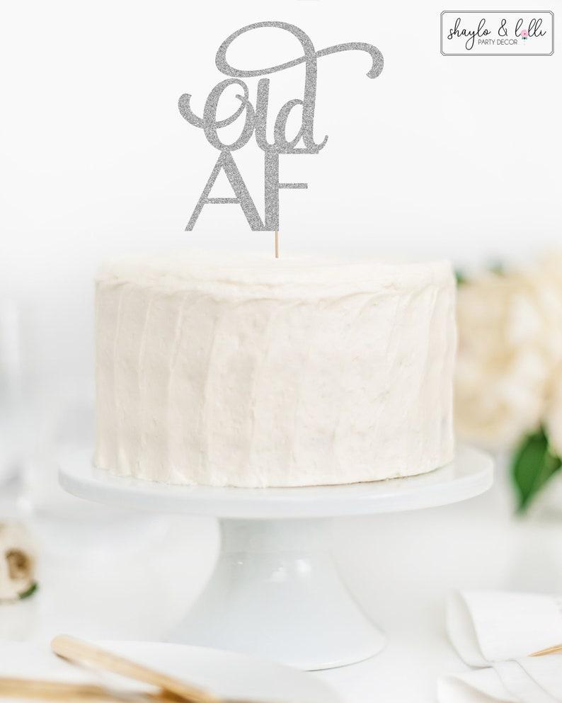 """Juego Personalizado Cumpleaños 8/"""" Glaseado Cake Topper Decoración Damas Para Hombre Adulto"""