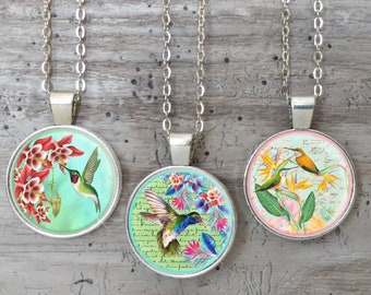 Humming Bird Necklace, List Prices reflect MSRP
