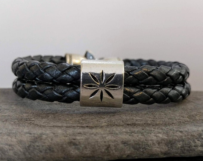 Braided North Star Bracelet, Handmade, LB-20- Please call for wholesale pricing