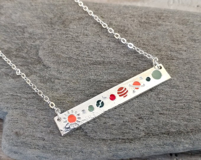 Silver Lunar Necklace, TN-5- Please call for wholesale prices