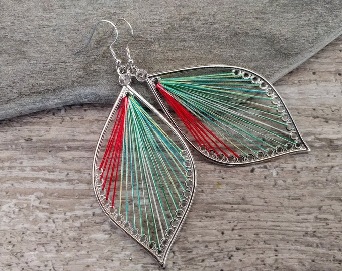 Boho String Earrings, BOHO-E3- Please call for wholesale pricing