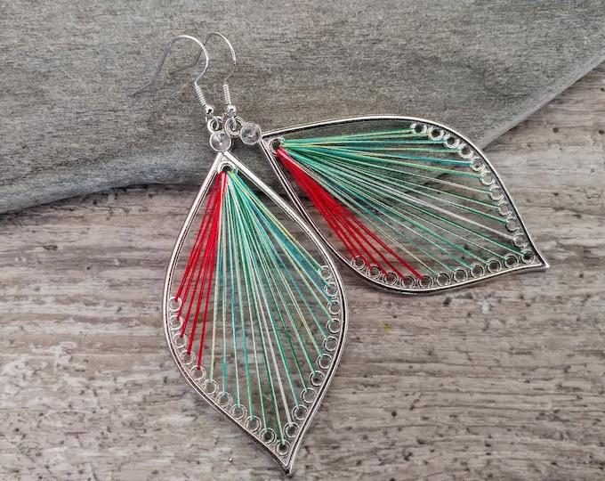 Boho String Earrings, MOQ 3