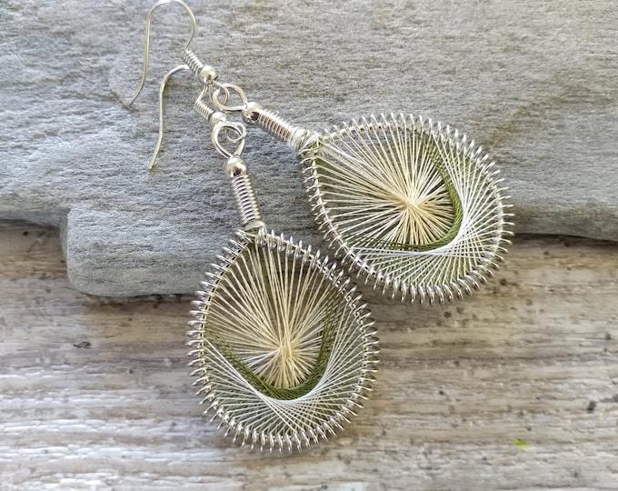 80's String Earrings, MOQ 3
