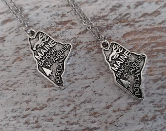 State Love Necklace, MN-20    Please call for wholesale pricing