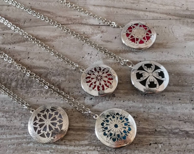 Vintage Aromatherapy Locket, Silver or Bronze, AL-ORIG- Please call for wholesale pricing