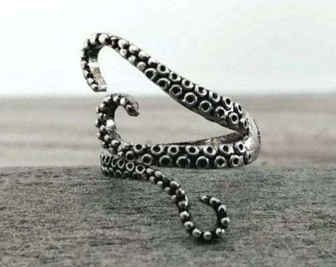 Octopus Ring, Best Seller, R-27- Please call for wholesale Pricing