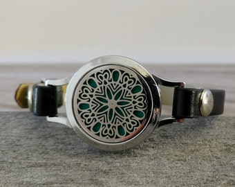 Watch Style Aromatherapy Bracelet, 16 Styles Available, AB-20