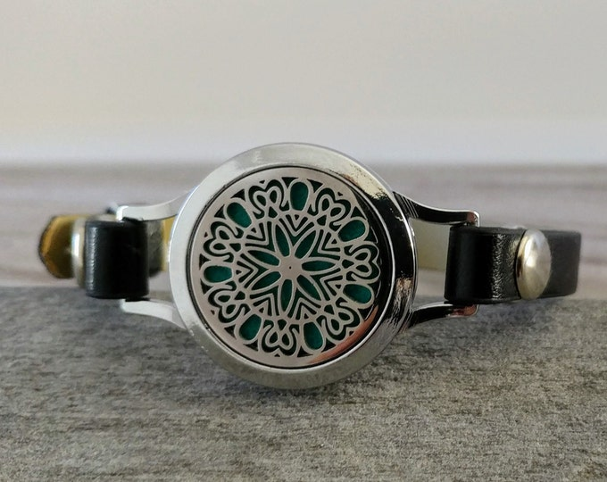 Watch Style Aromatherapy Bracelet, 16 Styles Available, AB-20- Please call for wholesale pricing