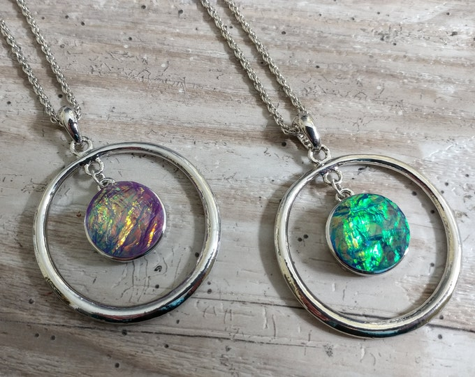 Circle Snap Necklace-SN-2- Please call for wholesale pricing