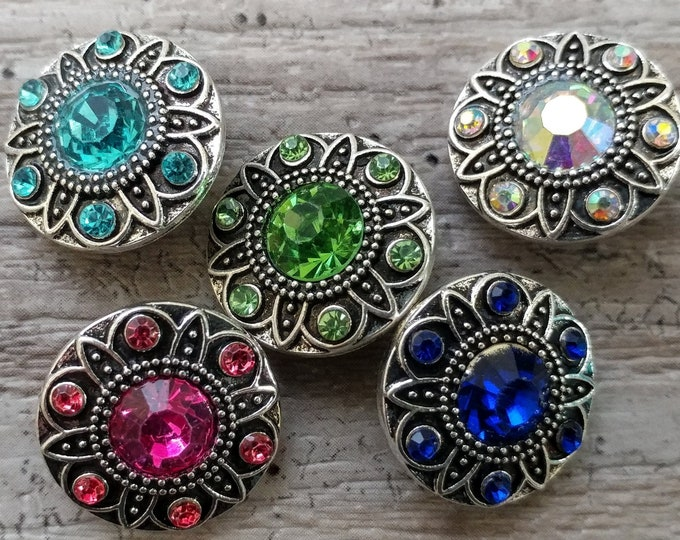 5 Piece 18 MM Snap Set-S-96.... Please call for wholesale prices