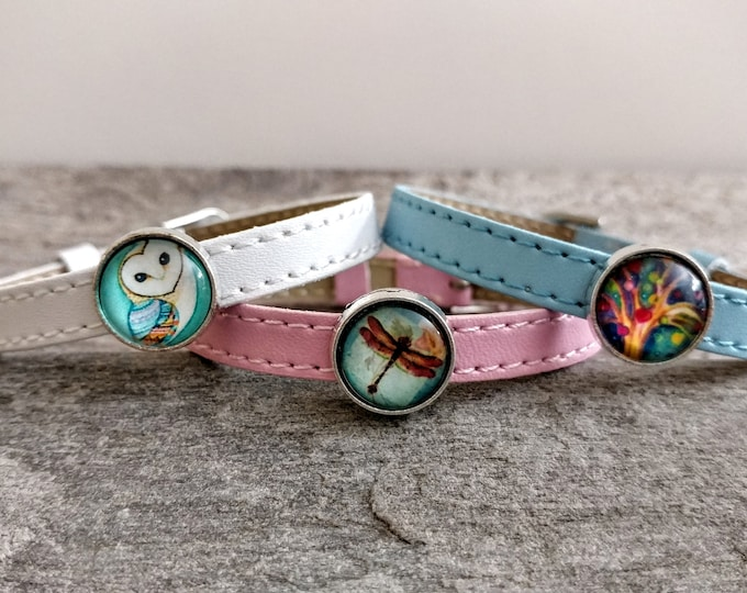 Pastel Tween Slider Bracelet, Vegan, LB-8- Please call for wholesale prices