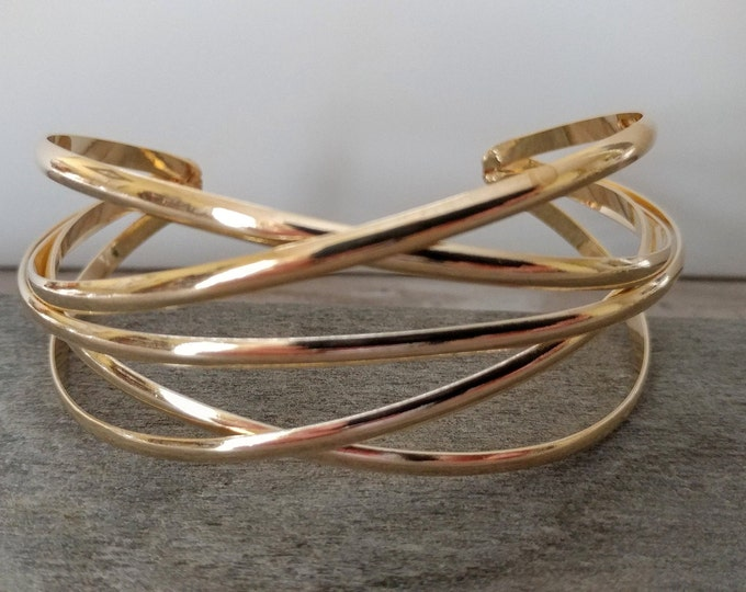 Layered Atom Cuff, TB-11- Please call for wholesale prices