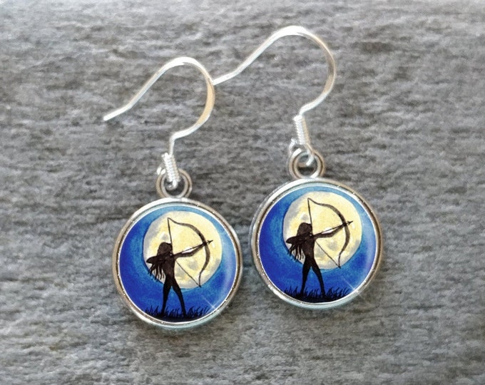 Summer Day Dream Earrings, Handmade, Multiple Images, 12  Settings Available, SDD-E
