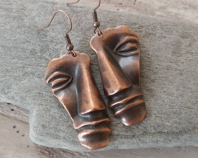 Boho Face Earrings,  BOHO-E12- Please call for wholesale pricing