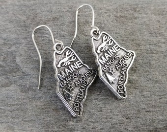 State of Maine Earrings, Other States Available