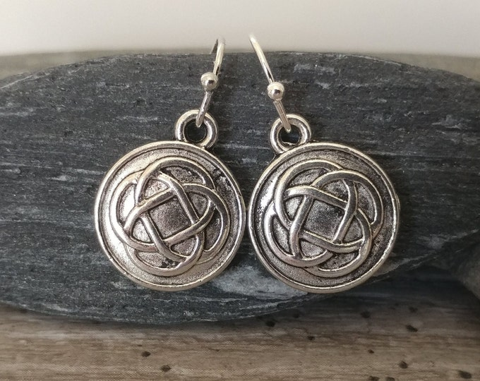 Petite Celtic Knot Earrings, Please Call To Unlock Wholesale Pricing