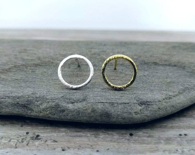 Circle Studs, STUD-13-Please call for wholesale pricing