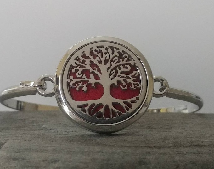 Earthy Aromatherapy Bracelet,  AB-TREE-C- Please call for wholesale pricing