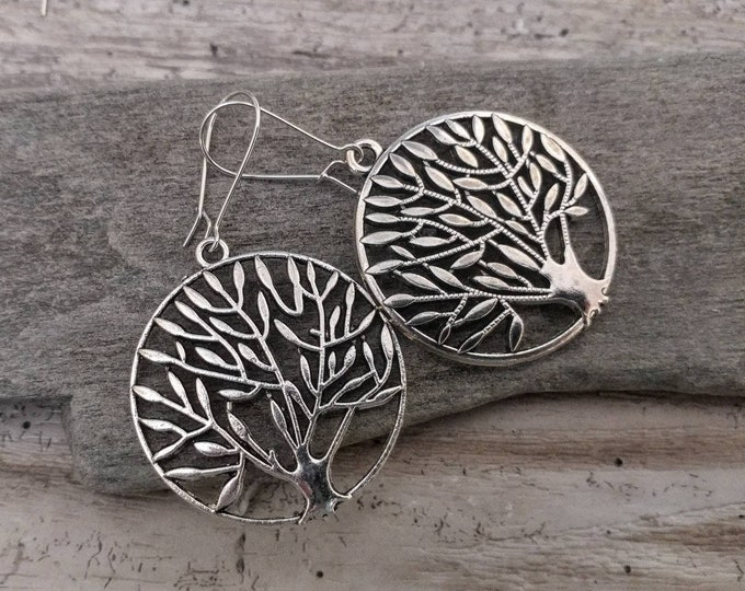 Tree of Life Statement Earrings, EAR-10-Please call for wholesale pricing