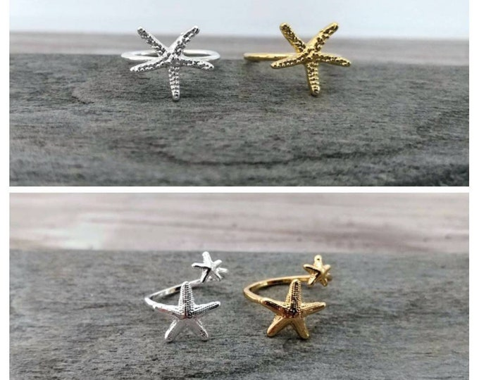 Starfish Ring-MOQ-3